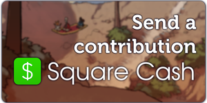 Send a contribution with Square Cash