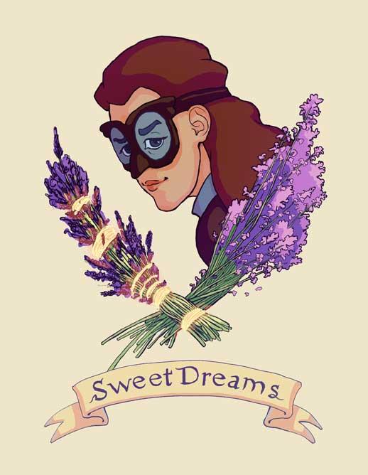 """Nwain """"Sweet Dreams"""" Print"""