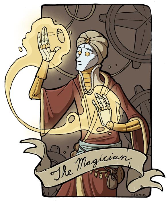 Magician by Sfé