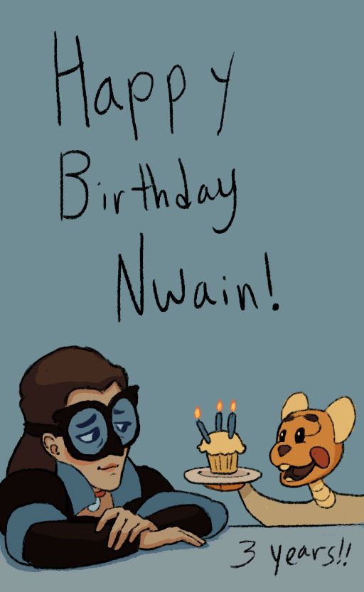Nwain Birthday 3 Years